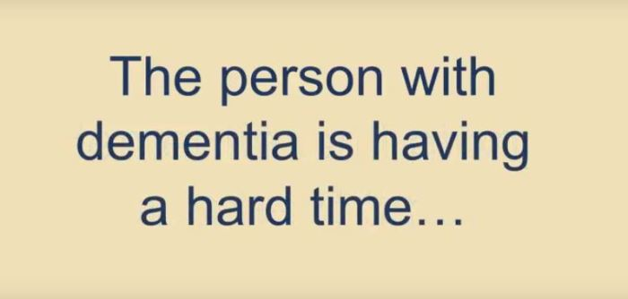 how to help someone with dementia remember you